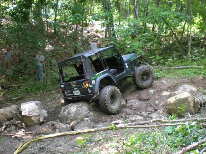 Jeep at Drew's