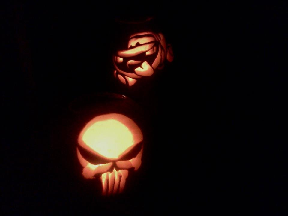 2011- Our pumpkins together