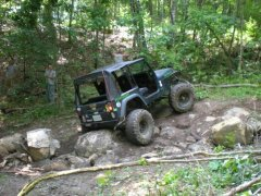 Jeep at Drew's