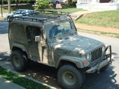 various pictures of jeep