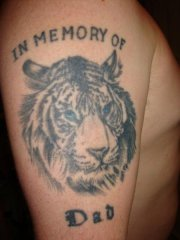In Memory of Dad tatt
