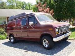 87 E150 OLD WORK VAN ....