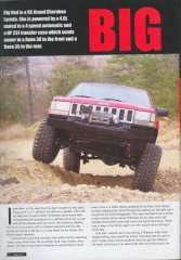 Jeep Action Nov. issue 2009 pg 42